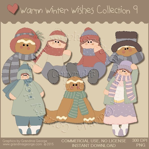 Warm Winter Wishes Collection Vol. 9
