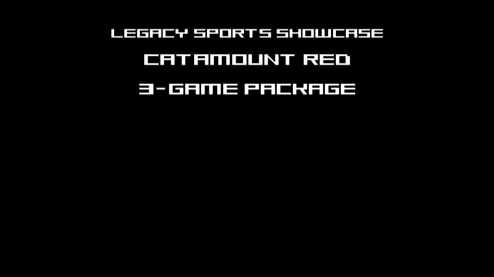 CATAMOUNT RED 3 GAME PACKAGE