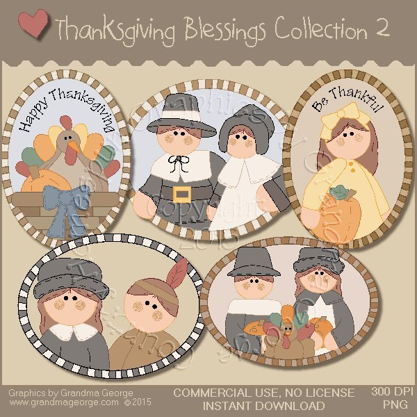 Thanksgiving Blessings Collection Vol. 2