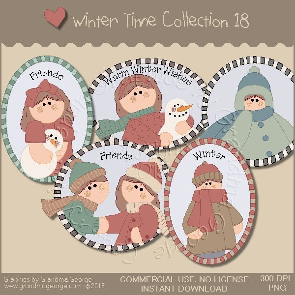Winter Time Collection Vol. 18