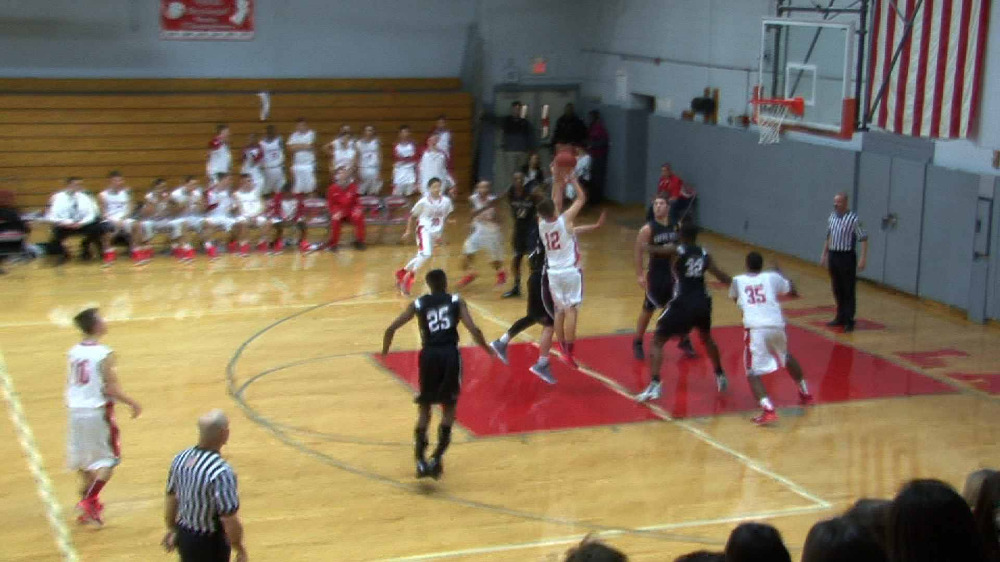 Fair Lawn vs. Wayne Hills boys' basketball video highlights