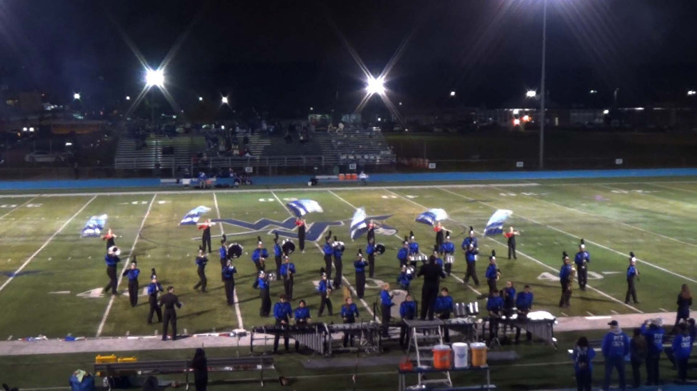 Wayne Valley H.S. band performance